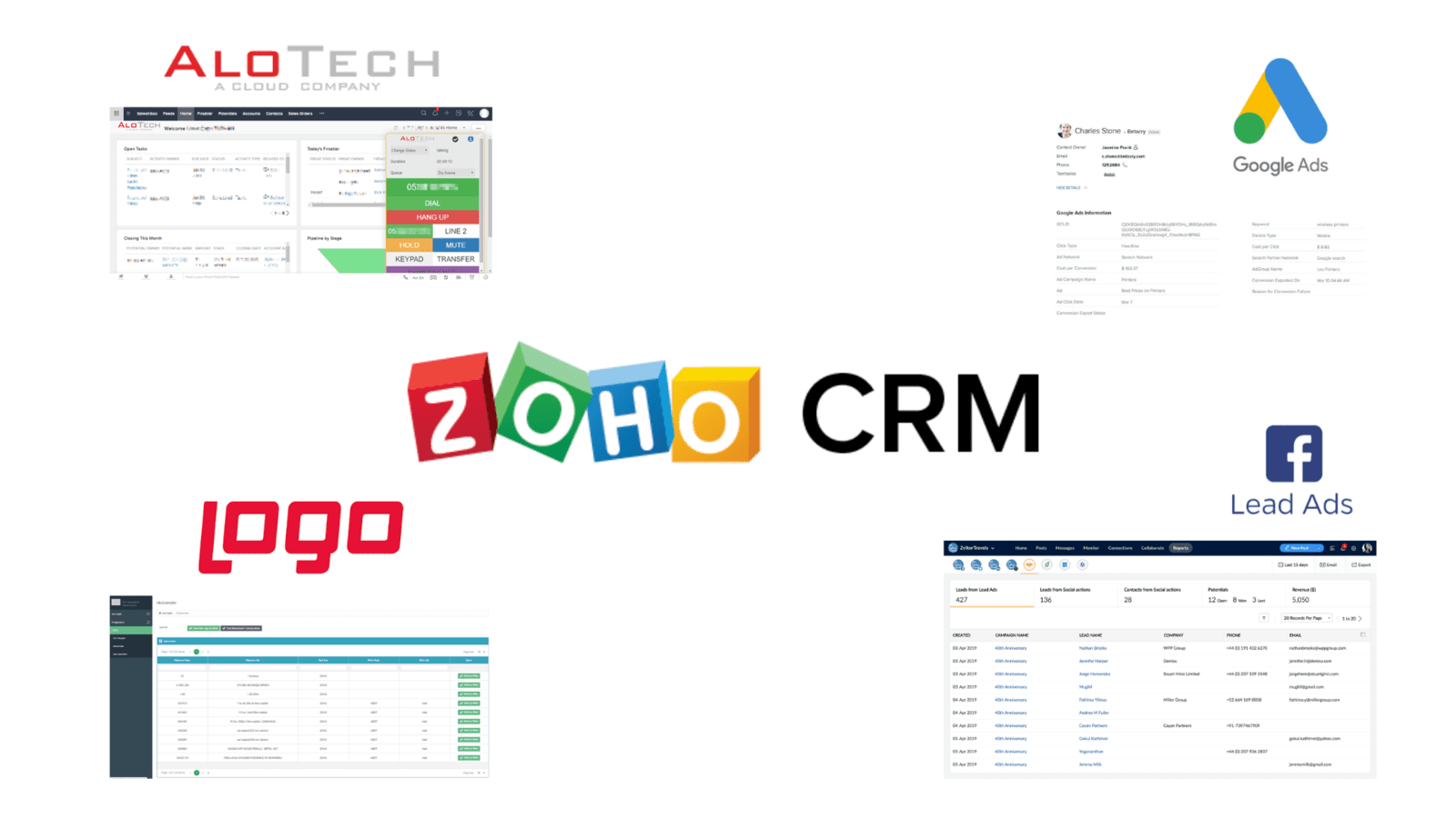 zoho crm facebook lead ads entegrasyon